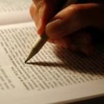 highlighting words in open book